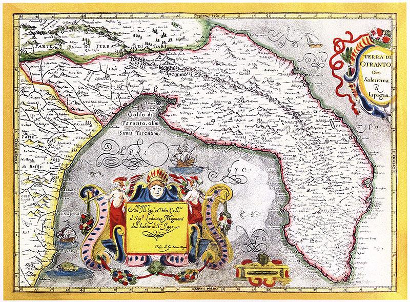 Cartina Puglia Grecia.Origini E Storia Della Nostra Terra Salento Tra Mare E Terra